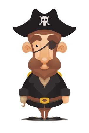 Pirate Captain Stock Vector - 12227418