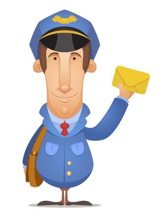 Postal Worker Vector