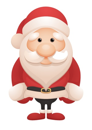 costume cartoon: Cute Santa