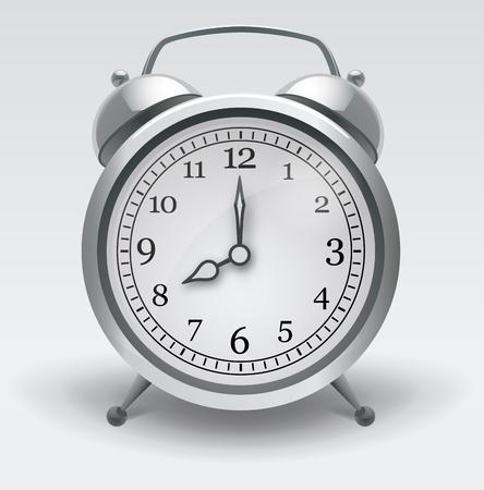Alarm clock. Realistic Vector Illustration Vector