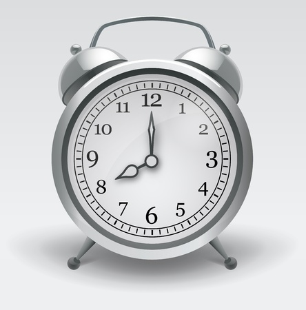 Alarm clock. Realistic Vector Illustration Vector