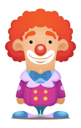 Cute Clown Vector
