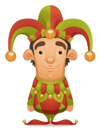 jester hat: Joker Illustration