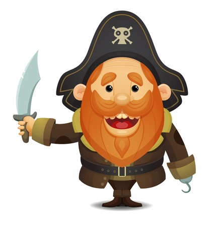 Pirate Captain Stock Vector - 13404652