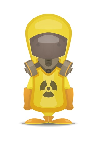 Radiation Protection Suit Stock Vector - 15506217