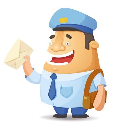 Postal Worker Stock Vector - 15506218