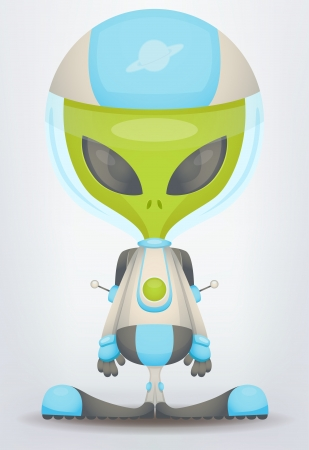 spacecraft: Alien Illustration