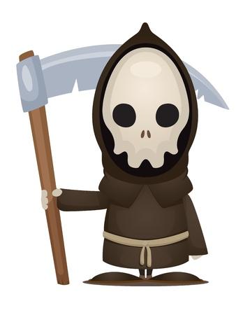 scythe: Grim Reaper Illustration