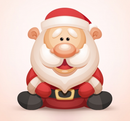 cartoon santa: Santa Claus Illustration