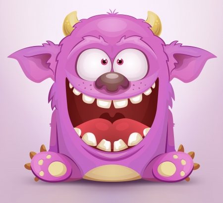 Laughing Monster Stock Vector - 15732038