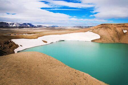 vulcano: iceland - viti