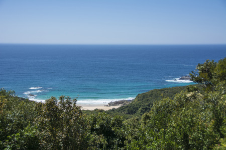 forster: A small seculded beach near Forster NSW Australia.