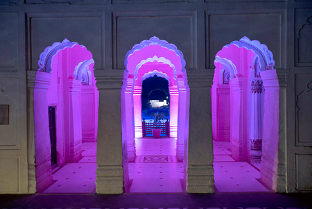 Fifty shades of Pink, Pinjore Gardens