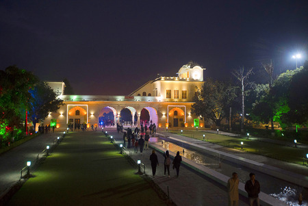 Linearity followed by arches, Pinjore Gardens