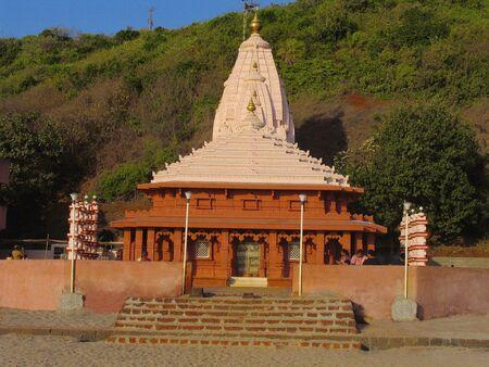 Temple at Ganapati Pule, Maharashtra