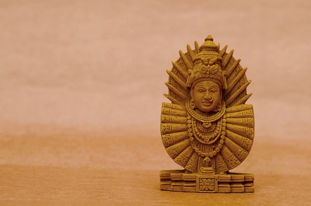 An idol of goddess Ambabai, Pune, Maharashtra