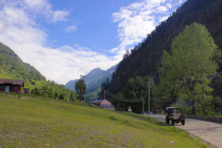 Kalpa is a small town in the Sutlej river valley. Himachal Pradesh