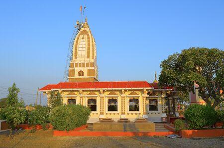 Shri Bhairavanath Temple side view in Karde, Shirur