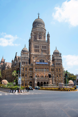 Bombay Municipal Corporation ( BMC) building, Mumbai, Maharashtra