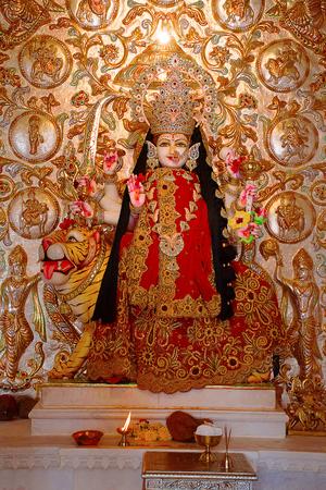 Temple deity Ashapura Mataji temple, Katraj road, Pune. Maharashtra