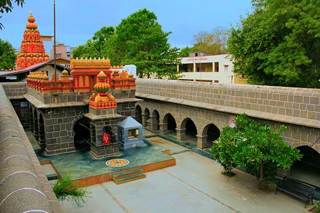 Internal view of Vitthal Mandir with Lord Ganesha, Vithalwadi wadi, Prati Pandharpur