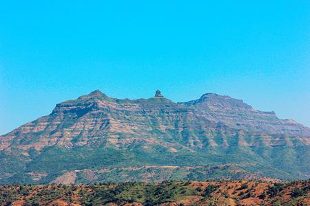 Rajgad Fort, Pune, Maharashtra Stock Photo