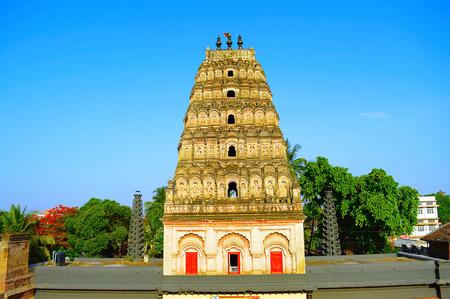 Shree Ganpati mandir Tasgaon, near Sangli, Maharashtra.