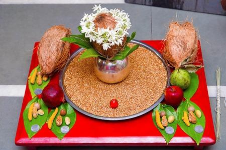 Kalash Poojan Hindu rituals