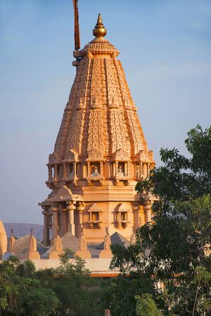 Shatrunjay Jain Mandir, Katraj Kondhwa Road Stock Photo