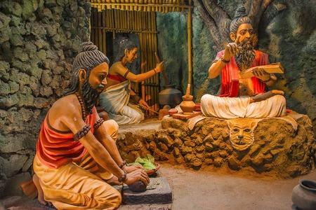 Ancient Indian medicine making , Kaneri Math, Kolhapur Maharashtra Redactioneel