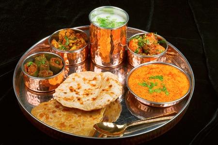 Rajasthani Thaali, Pune, India