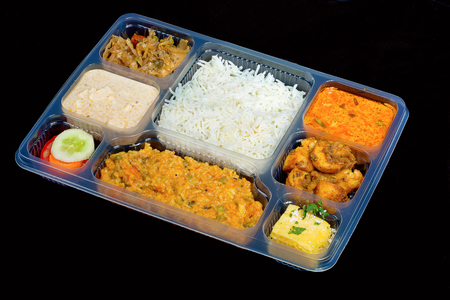 Rajasthani Thaali In Lunch Box, Pune, India
