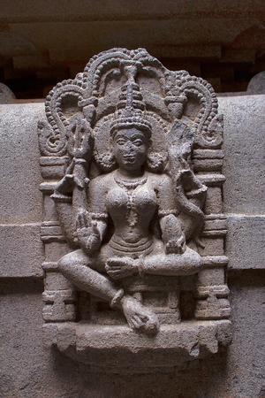 Sculpture of Godesses from Bhuleshwar, Maharashtra, India 免版税图像