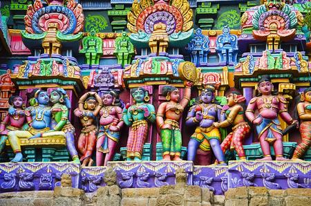 It is one among the three major shrines of Lord Vishnu. 写真素材