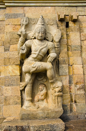 Shiva Temple has the biggest Lingam in South India. It became the capital of the Chola dynasty in c. 1025 during the reign of Rajendra Chola I, and served as the Chola capital for around 250 years.