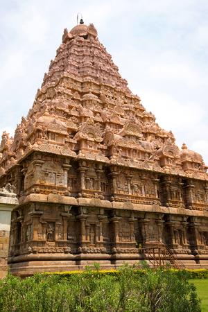 Brihadisvara Temple, Gangaikondacholapuram, Tamil Nadu, India View from South West
