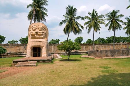 Simhakinar tank, Brihadisvara Temple complex, Gangaikondacholapuram, Tamil Nadu India
