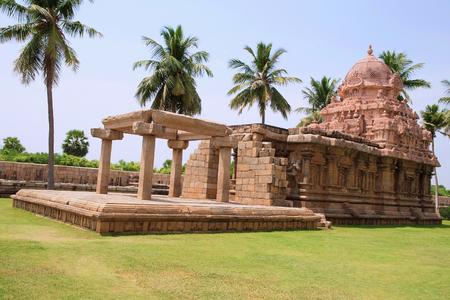 Tenkailasa shrine and Brihadisvara Temple, Gangaikondacholapuram, Tamil Nadu, India Stock fotó - 101274286