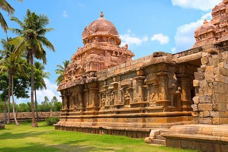 Tenkailasa shrine, Gangaikondacholapuram from Tamil Nadu state of India