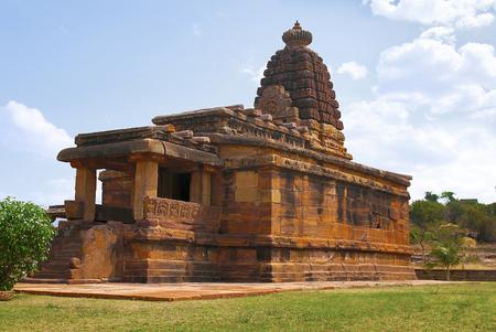 Hucchimalli Gudi, Mad Malli's temple, Aihole, Bagalkot, Karnataka, India. It is dedicated to Shiva