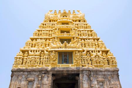 East Gopuram at the entrance, Chennakesava temple, Belur, Karnataka India