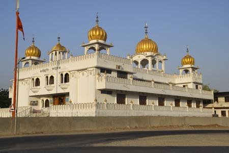 Side View, Gurudwara Guru Singh Sahib, Dehu Road, Pune, Maharashtra India