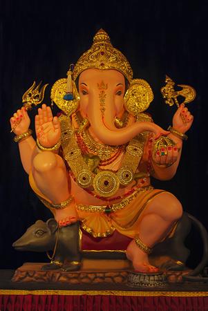 Lord Ganesha Guruji Talim Ganeshostav Laxmi Road Pune Maharashtra