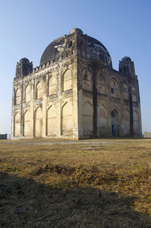 A view of Chor Gumbaz, Gulbarga, Karnataka