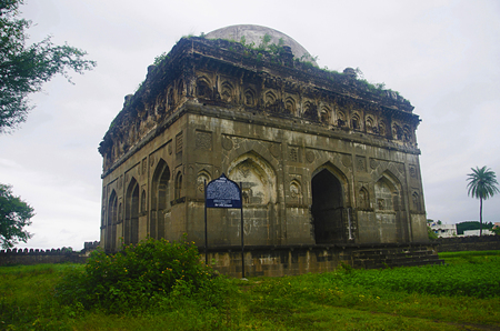 Scenic view of Bagh Rauza, Ahmednagar, Maharashtra
