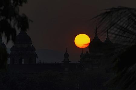 Sunset, Near the New Palace, Kolhapur, Maharashtra.