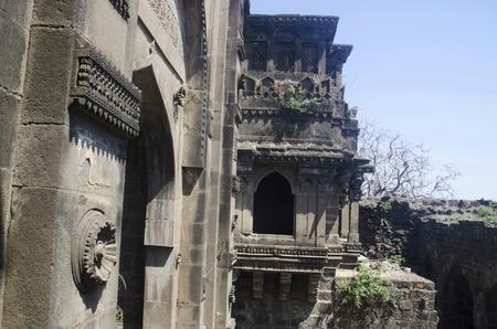 The Shahnur or Mahakali gate, Narnala fort, Near Akola, Maharashtra
