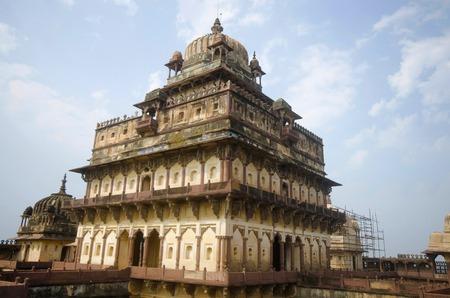 Innenansicht des Datia-Palastes. Auch bekannt als Bir Singh Palace oder Bir Singh Dev Palace. Daten. Madhya Pradesh Standard-Bild