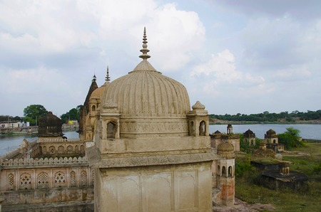 Chhatris of Datia Kings. Datia. Madhya Pradesh state of india