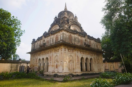 Chhatri of Maharaja Vijay Bahaddur. 8th Raja of Datia 1839 to 1857. Datia had formerly been a state in the Bundelkhand region founded in 1626. Datia. Madhya Pradesh Reklamní fotografie